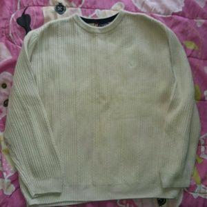 Men's Ivory long sleeve sweater